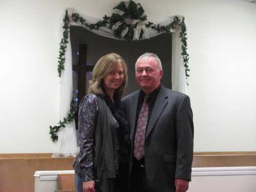 Pastor Mike Kleeberger and his wife Elizabeth
